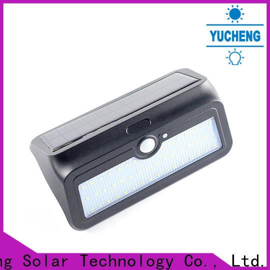 Yucheng solar powered sensor light supplier for stair