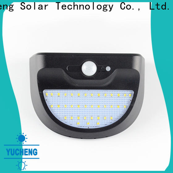 top solar powered security lights manufacturer for pathway