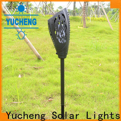 Yucheng high-quality solar garden lanterns factory direct supply for park