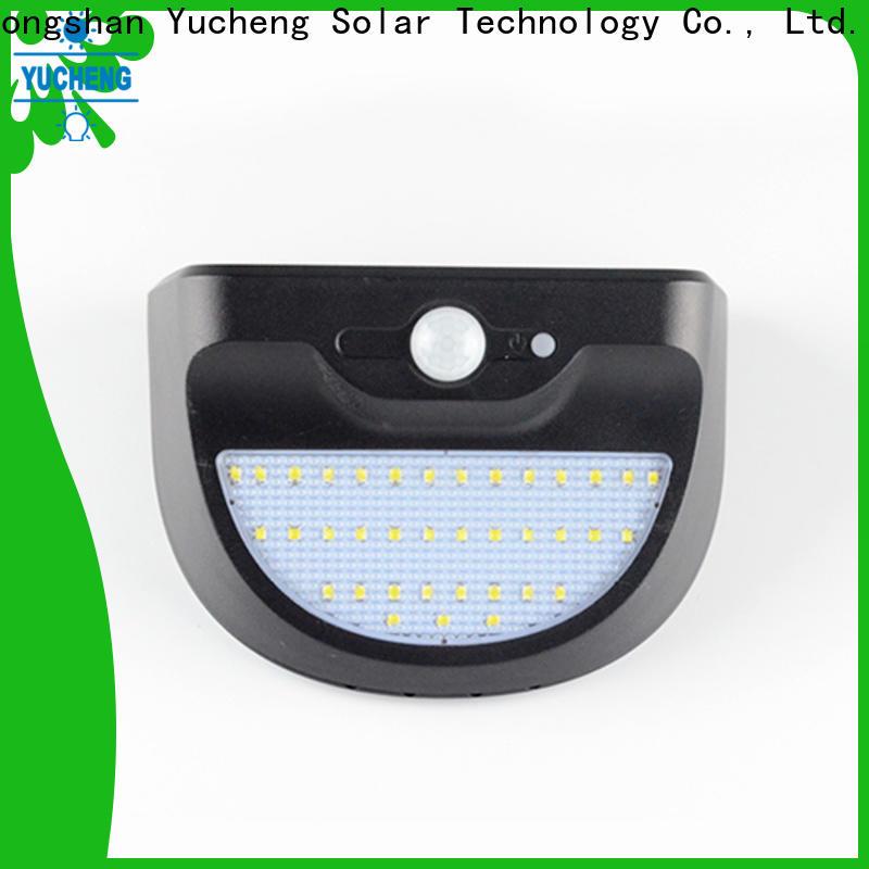 Yucheng high-quality solar motion sensor light series for stair