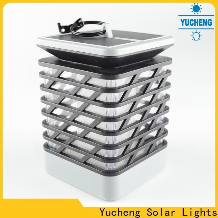 Yucheng wholesale solar flame torch series for garden