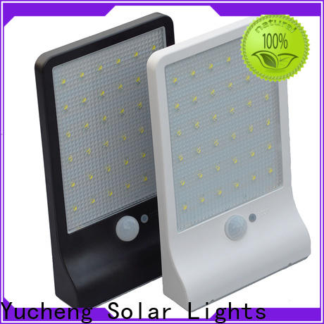 Yucheng best solar wall sconce with good price for pathway