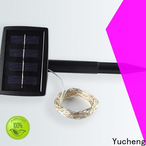 custom solar string lights factory for courtyards