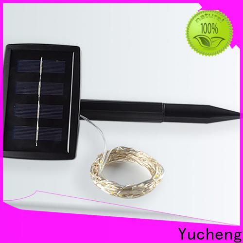 Yucheng latest solar powered string lights series for trees