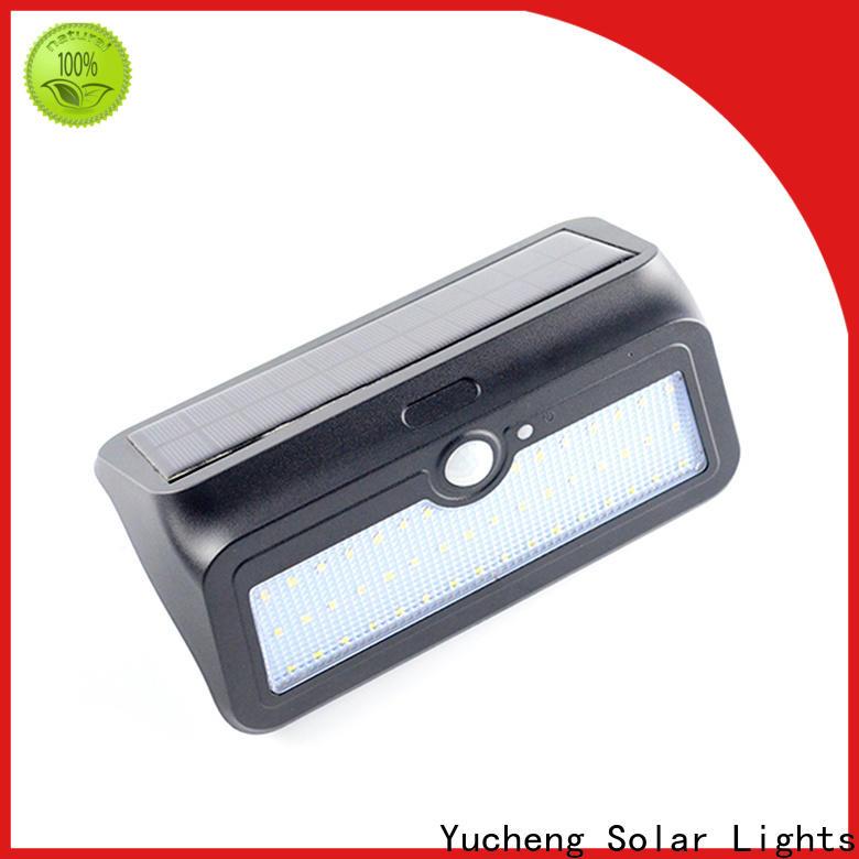 Yucheng best solar powered led lights outdoor manufacturer for garden