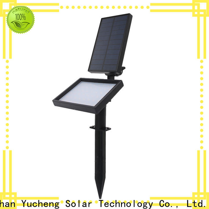 Yucheng solar spotlights outdoor bright customized for home