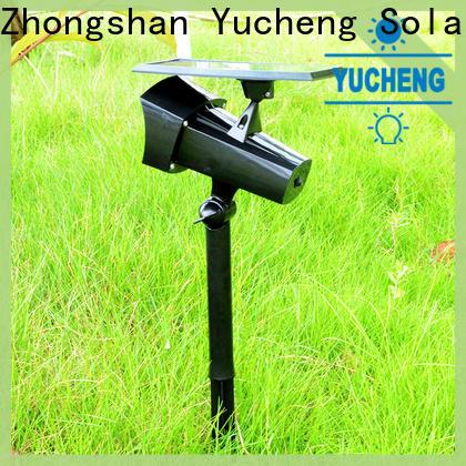 Yucheng solar lawn lights manufacturer for wall