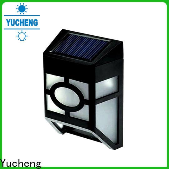 best solar fence lights supplier for outdoor