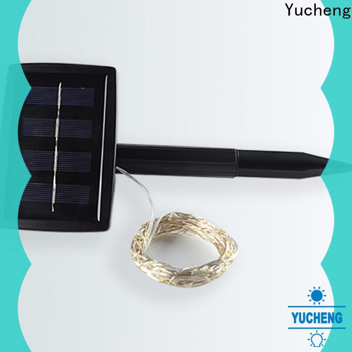 Yucheng custom solar powered christmas lights series for Christmas