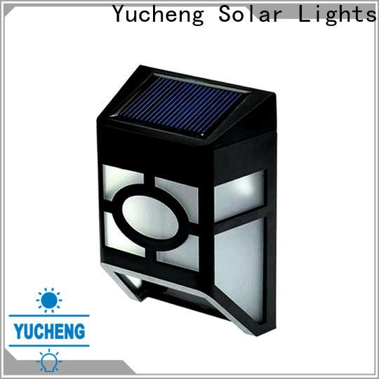 best solar garden fence lights manufacturer for park