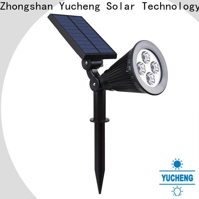 Yucheng wholesale solar spotlight directly sale for park