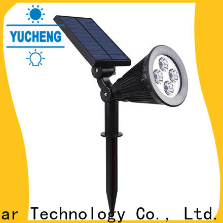 Yucheng new solar lawn lights customized for wall