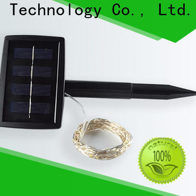 Yucheng solar powered string lights factory for Christmas