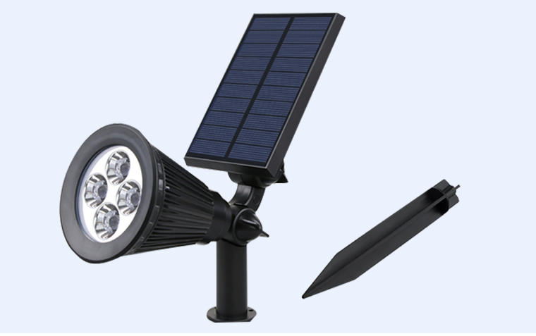 Yucheng intelligent control led solar spotlights outdoor factory direct supply for home-2